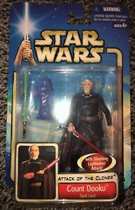 STAR WARS COUNT DOOKU CUSTOM MINIFIGURE NIP USA SELLER