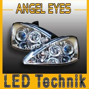 angel eyes scheinwerfer klarglas ford focus mk1 led links. Black Bedroom Furniture Sets. Home Design Ideas