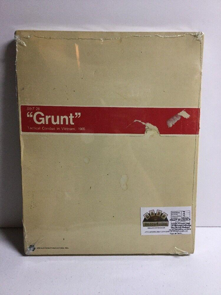Grunt SPI vintage guerre du Vietnam jeu de plateau avec stratégie et tactiques Magazine