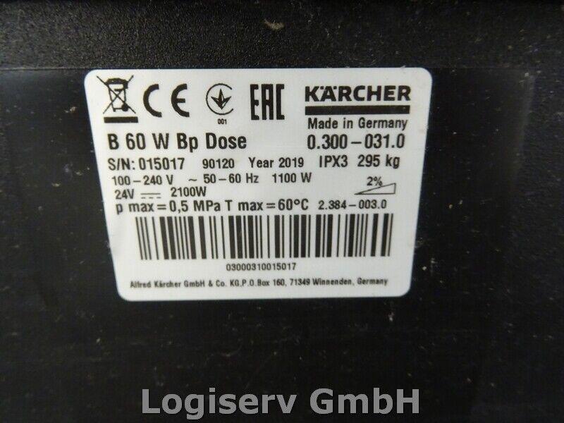 Bild 3 - Kärcher B60 W BP Pck Dose Bodenreinigungsmaschine Reinigungmaschine
