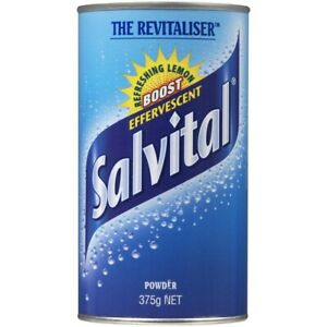 Salvital Lemon Effervescent Powder 375g