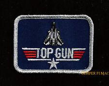TOP GUN TOPGUN HAT PATCH BADGE F14 TOMCAT PIN UP USS PILOT MAVERICK US NAVY WOW