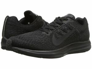 separation shoes 7bc86 859f5 Details about Men's Nike Air Zoom Winflo 5 Running Black/Anthracite Sizes  8-12 NIB AA7406-002