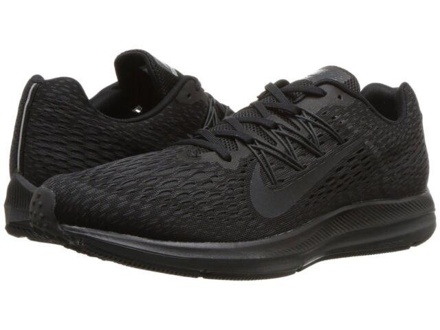 Herren Nike Air Zoom winflo 5 Running schwarzanthrazit Größe 8 12 NIB AA7406 002