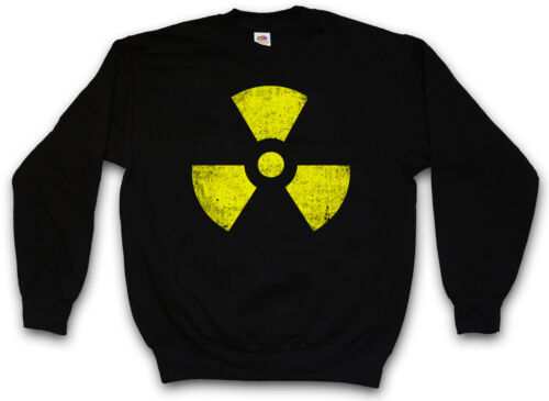 Radioactive simbolo felpa logo BIOHAZARD Warning Sign CDC Felpe Pullover