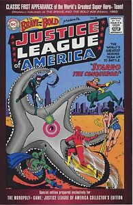 BRAVE & THE BOLD 28 GIVEAWAY PROMO VARIANT 1st JUSTICE LEAGUE OF AMERICA JLA F+