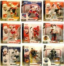 McFarlane Sports NHL Hockey Series 4 Action Figure Set 9 Players 2003 Thibault