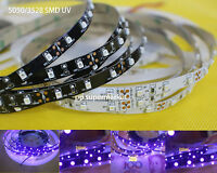 DC12V 3528/5050 UV Ultraviolet purple waterproof 60led/m Strip lamp black light
