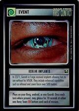 Star Trek CCG Reflections Ocular Implants Very Rare Foil VRF