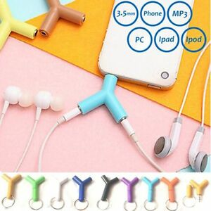 3-5mm-1-to-2-Double-Jack-Earphone-Headphone-Y-Splitter-Cable-Cord-Adapter-Plug