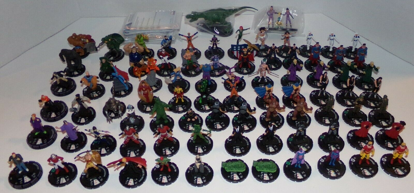 Heroclix Lot of Superheroes 84 Total - Excellent Condition Great For A Collector