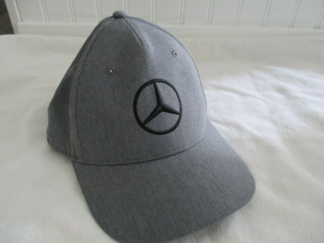 NEW Puma Golf Mercedes Benz Embroidered Logo Cap / Hat Duocell Gray | eBay
