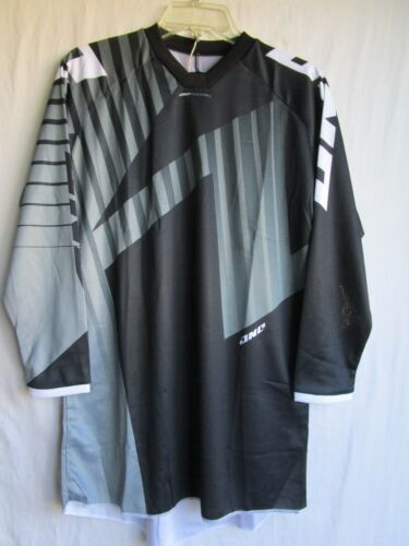 """YOUTH motocross BMX jersey ONE INDUSTRIES /""""ATOM/"""" blk//gry EXTRA LARGE"""