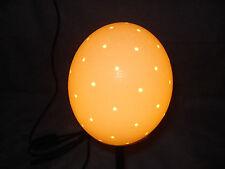 Straußeneilampe Ersatzlampenschirm Lochbohrung ca 61 Loch  TOP Lampenschirm