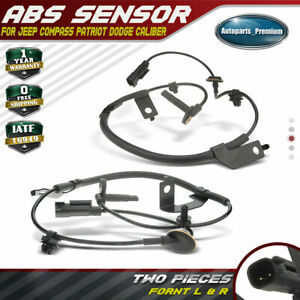 A-Premium ABS Wheel Speed Sensor for Jeep Compass Patriot 2007-2014 Caliber 2007-2012 Front Left Driver Side