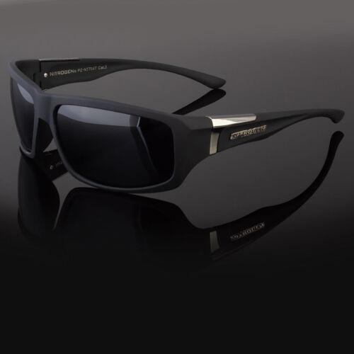 Men New Polarized Sunglasses Sport Wrap Around Mirror Driving Eyewear Glasses