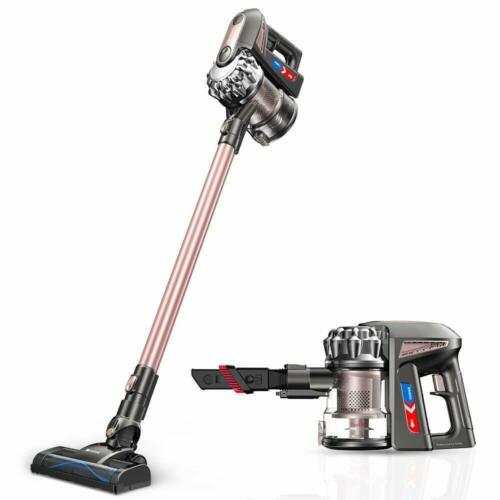 15000Pa Handheld Stick Vacuum Cleaner w Wall Mount & HEPA Filtratition -Cordless