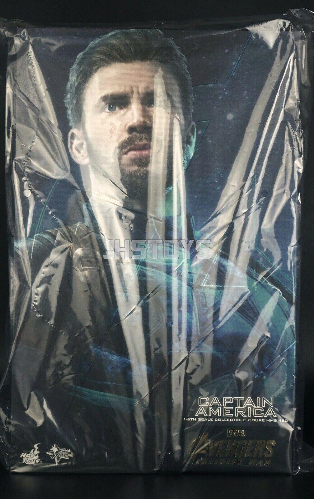 heta leksaker 1  6 Avengers Infinity War Captain America Movie MMS480