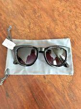 New Authentic J. crew Women's Retro Sunglasses Classic Black