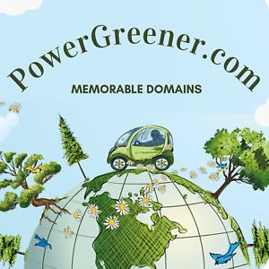 PowerGreener.com Domain Name For Sale - Premium Domain Name