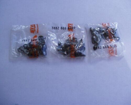 3//8 Large 3 Packs Stihl Chainsaw Master Links .050,
