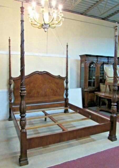 Kincaid Furniture King Size Rice Carved