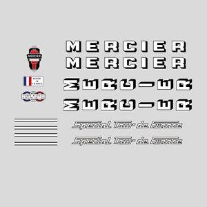 MERCIER spécial Tour de France vélo Frame Stickers-Autocollants N 0557