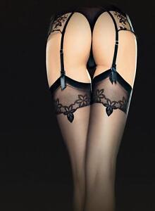 Bas-sexy-nylon-fins-pour-porte-jarretelle-femme-20-den-FIORE-O4025-noir-rouge