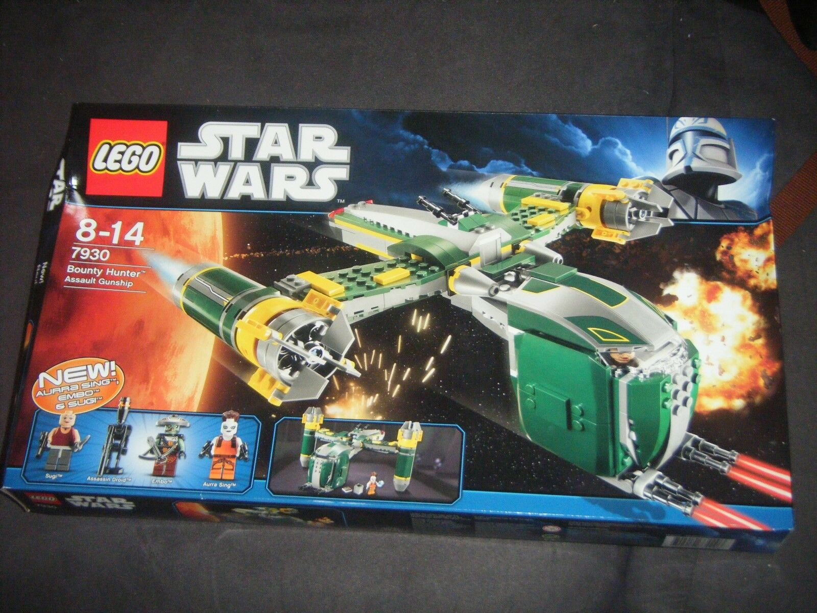 LEGO Star Wars 7930  Bounty Hunter Assault, New, factory sealed, retired