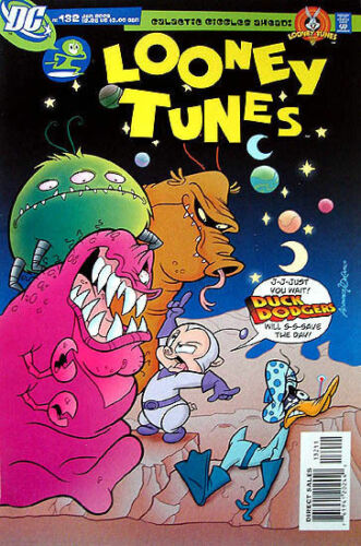 LOONEY TUNES Comic # 132 DUCK DODGERS Space Issue RARE!