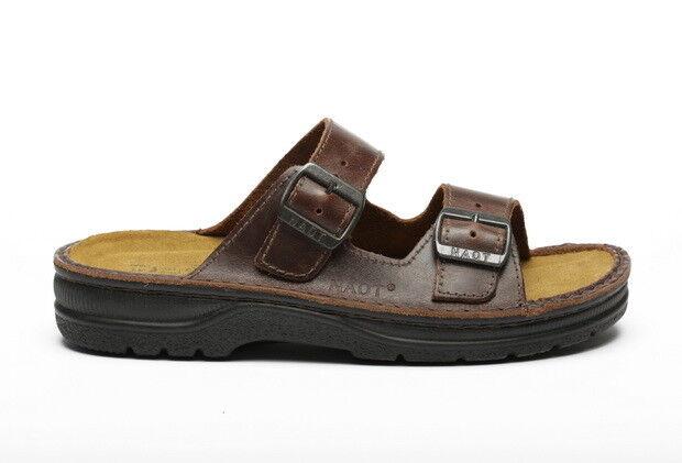 Naot Mikael Hombres Zapatos Zuecos Resbalón En Sandalias Gladiador Zapatillas Al Aire Libre Nuevo plana