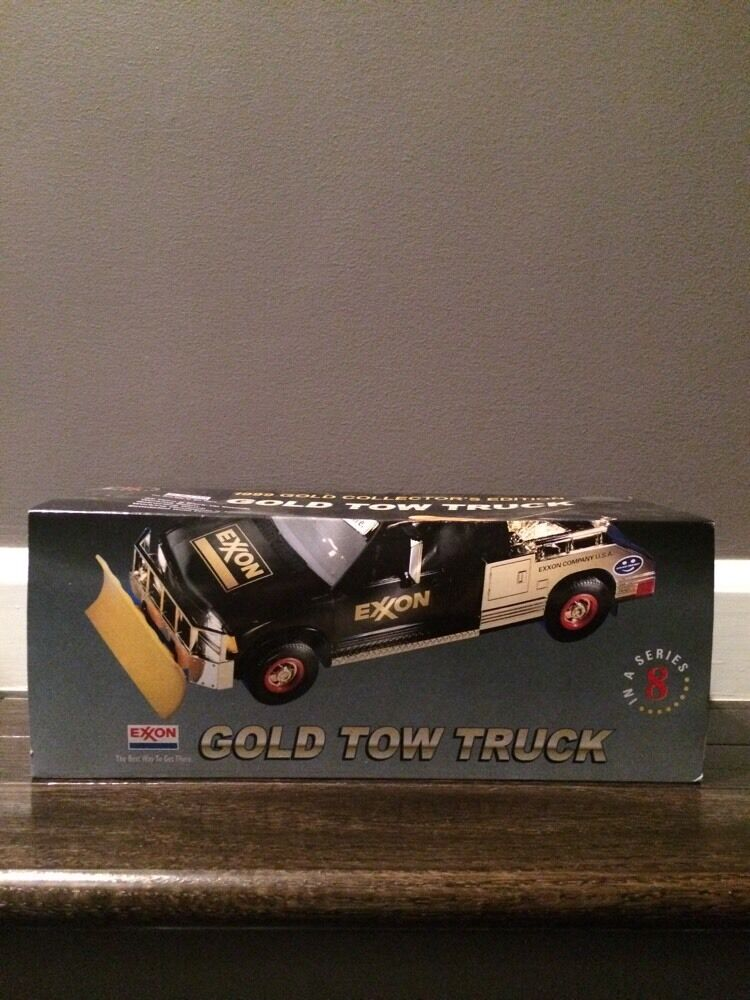 1999 Exxon Tow Truck Gold Collector's Edition  F93