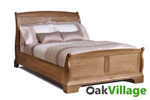 Oak King Size Bed 5ft Oak Bed Frame Bedroom Brand New Normandy