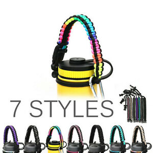 Paracord-Handle-Strap-Cord-Safety-Ropes-New-For-Flask-Bottles-Wide-Mouth