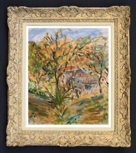Raya-safir-1909-2004-fauve-landscape-painting-of-provence-1950-216