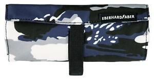 Eberhard Faber 577536 - Faulenzerschnecke Camouflage Blau/Weiss/Grau Neu