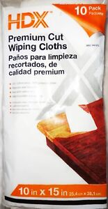 24306088d73 10 pack Paint & Staining Premium Cut WIPING CLOTHS 10