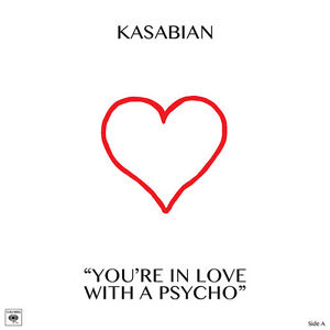 KASABIAN-YOU-039-RE-IN-LOVE-WITH-A-PSYCHO-SONY-RECORDS-10-034-VINYLE-NEUF-NEW-VINYL-LP