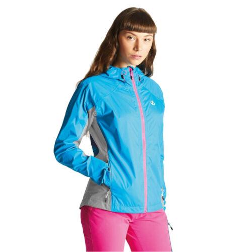 Dare 2b Femmes Surround Veste De Sport Blouson Top Bleu Extérieur Zip Intégral