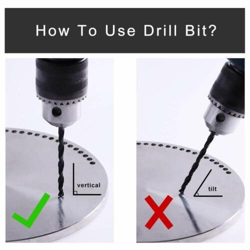 """21//64/"""" x 4-5//8/"""" inch Drill Bit for Metal Wood HSS Jobber Drill bits"""