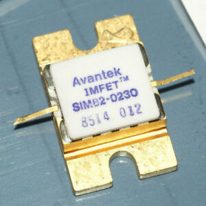AVANTEK SIM82-0230 IMFET Microwave Transmitter Transistor 6-7GHz - Dobl, Österreich - AVANTEK SIM82-0230 IMFET Microwave Transmitter Transistor 6-7GHz - Dobl, Österreich