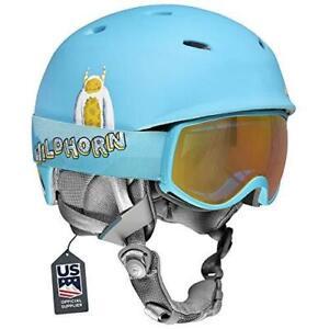 Wildhorn Outfitters Spire Kids Ski & Snow Helmet, Youth - Yeti Glacier Blue