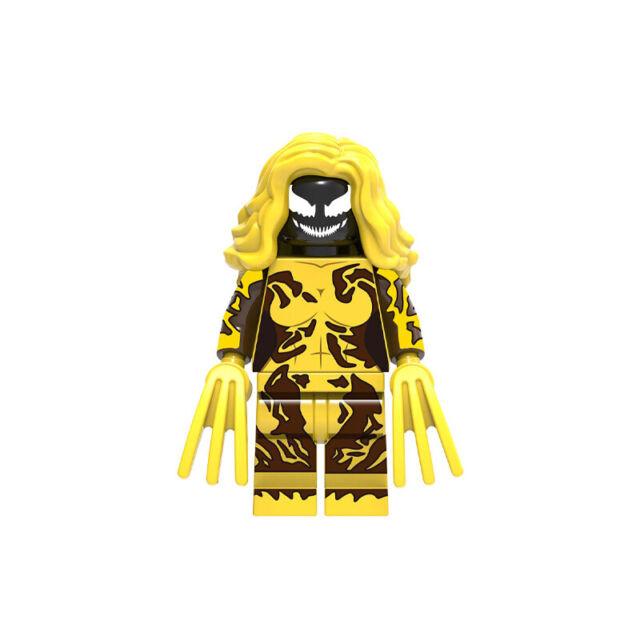 Marvel Supervillain Strategist Lego Moc Minifigure Baron Zemo