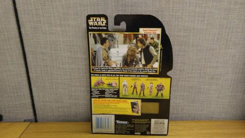 New! Star Wars Power of the Force Lando Calrissian in General/'s Gear figure