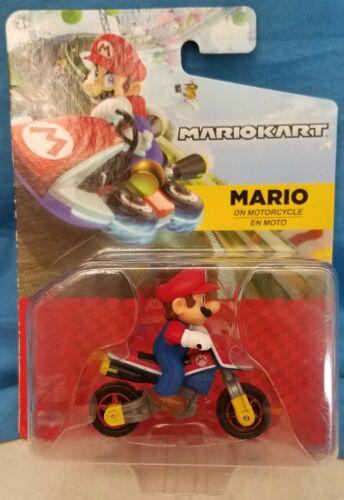 2019 Jakks Pacific MARIOKART Mario en Moto les recueillir tous ~ Boîte NAVIRE