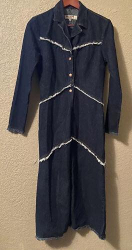 Paris Blues Originals Denim Dress Small Cotton Sn… - image 1