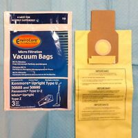 3 Bags For Kenmore Upright Vacuum 5068 50688 50690 Type U O Microlined
