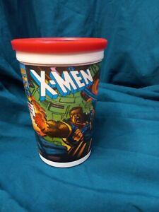 X-MEN CUP PIZZA HUT 1993 Bishop Jean Gray Cyclops with lid!
