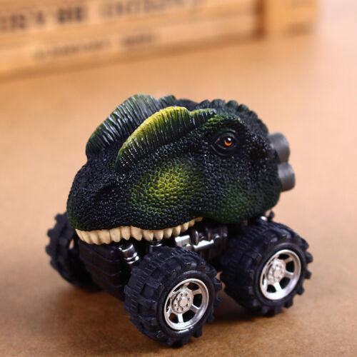 Children/'s Day Gift Toy Dinosaur Model Mini Toy Car Trucks Back Of The Car Gift#
