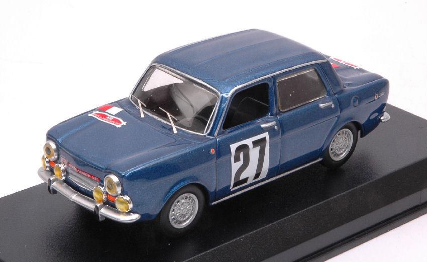 Simca Abarth 1150  27 Rallye De Franche   Comte' 1967 1 43 Model BEST MODELS